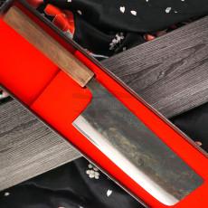 Nakiri Japanisches Messer Ittetsu Shirogami Tall IW-11839 18cm
