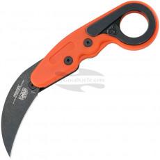 Folding karambit knife CRKT Provoke Orange Kinematic 4041O 6.3cm