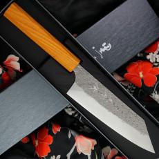 Bunka Japanese kitchen knife Yu Kurosaki Shizuku R2 Keyaki ZR-165BU 16.5cm
