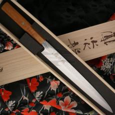 Японский кухонный нож Янагиба Ryusen Hamono Houenryu HE-302 30см