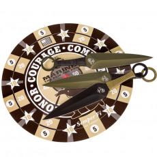 Cuchillo Lanzador United Cutlery USMC Set of 6 pcs 3164 13.3cm