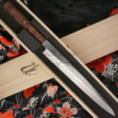 Japanilainen sushi veitsi Yanagiba Ryusen Hamono Houenryu HE-308 27cm