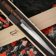 Японский кухонный нож Янагиба Ryusen Hamono Houenryu HE-308 27см
