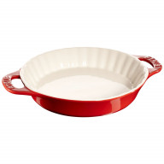Plato para hornear Staub de cerámica 28 cm, rojo cereza 40511-167-0