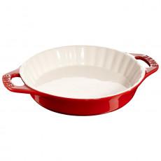 Plato para hornear Staub de cerámica 24 cm, rojo cereza 40511-164-0