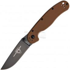 Folding knife Ontario RAT-2 Coyote Brown 8861CB 7.6cm