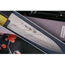 Японский кухонный нож Гьюто Sakai Takayuki Aogami Damascus  07434 18см - 2
