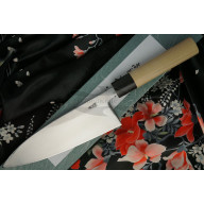 Японский кухонный нож Деба Tojiro Aogami F-977 18см - 2