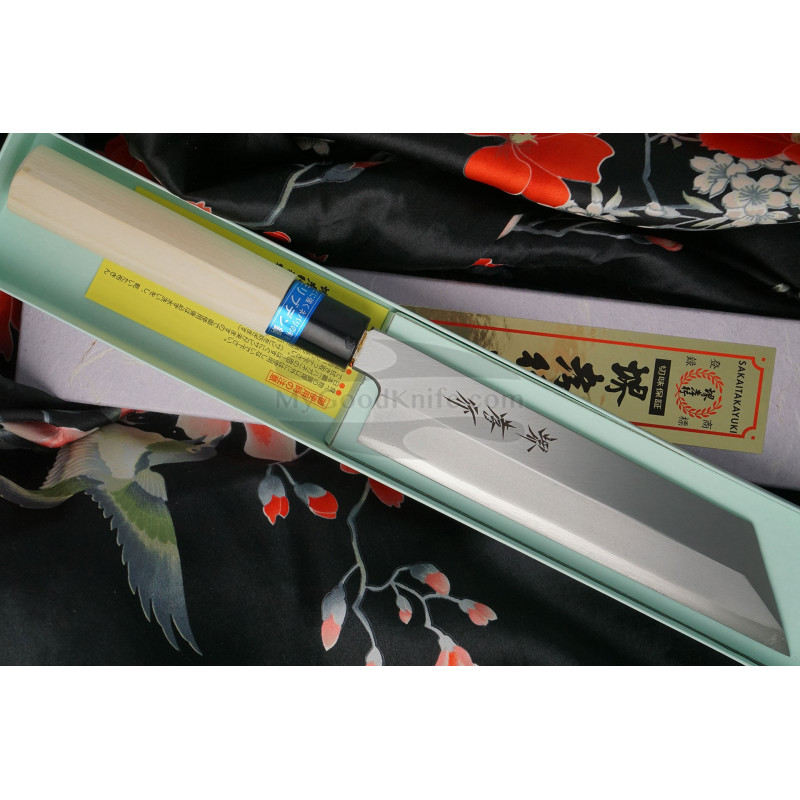 Japanese kitchen knife Sakai Takayuki Mukimono Inox  04397 18cm - 1