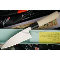 Deba Japanese kitchen knife Sakai Takayuki Ajikiri Inox  04378 12cm - 2