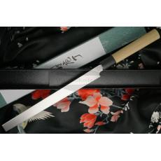 Японский кухонный нож Tojiro Shirogami Tako-Sashimi  F-912 24см - 2