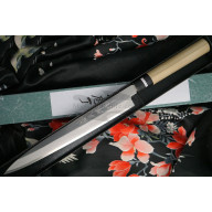 Yanagiba Japanese kitchen knife Tojiro Shirogami Left-Handed F-909L 27cm