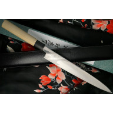 Japanilainen sushi veitsi Yanagiba Tojiro Shirogami Left-Handed  F-909L 27cm - 2