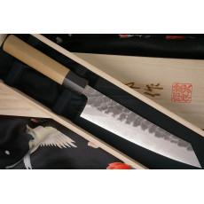 Japanilainen kokkiveitsi Kiritsuke Tojiro käsintehty  J1 18cm