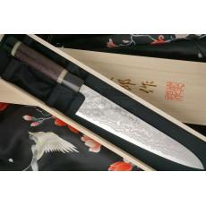 Japanilainen kokkiveitsi Gyuto Tojiro käsintehty J6 21cm