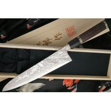 Gyuto Japanese kitchen knife Tojiro Handmade J6 21cm - 3