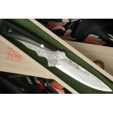 Hunting and Outdoor knife Tojiro Kugami Aogami  HMHA-010D 12cm - 2