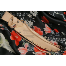 Hunting and Outdoor knife Tojiro Kugami Aogami  HMHA-010D 12cm - 5