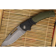 Folding knife We Knife Jixx Black/Green 904A 8.8cm