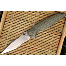 Folding knife We Knife Green 612F 10.1cm