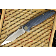 Folding knife We Knife Blue 612D 10.1cm
