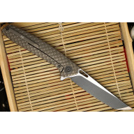 Folding knife We Knife Tanto Bronze  604R 9.7cm - 2