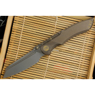 Folding knife We Knife Bronze  620J 9.7cm