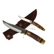 Hunting and Outdoor knife Rough Rider Two Piece Set 1944 12.7cm - 2