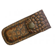 Sheath Leather Belt Pouch Alligator SH1190