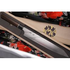 Sujihiki Japanese kitchen knife Seki Kanetsugu Zuiun 9309 24cm