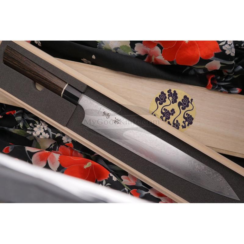 Японский кухонный нож Суджихики Seki Kanetsugu Zuiun 9309 24см - 1