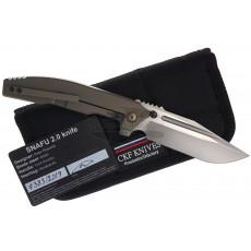 Kääntöveitsi Custom Knife Factory Rassenti SNAFU 2.0 ckfsna 9.7cm - 4
