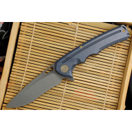 Folding knife We Knife Blue 611D 9.5cm