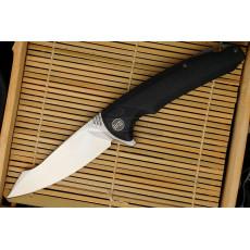 Складной нож We Knife Satin, Black 617B 10см
