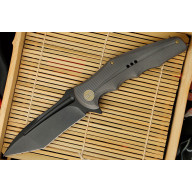 Folding knife We Knife Gray Tanto 608C 10cm