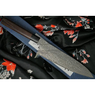 Gyuto Japanese kitchen knife Shiro Kamo SG2 G-7506 21cm