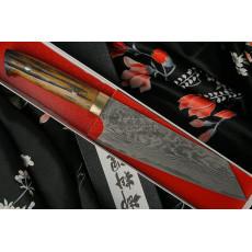 Japanilainen Takeshi Saji Bunka VG10, bull bone HA4606 17cm