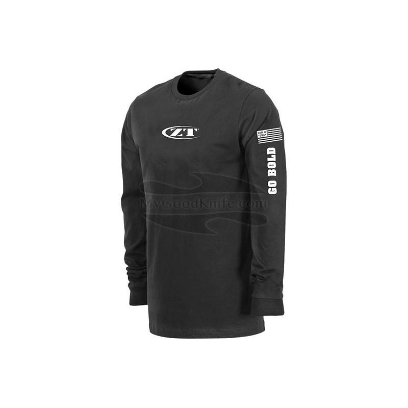 Футболка Zero Tolerance Long Sleeve Black XL  ZT184XL - 1