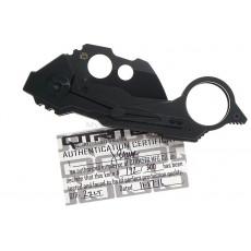 Folding karambit knife Quartermaster B.A. Baracas Limo  2ZLT 5.9cm - 6