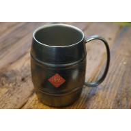 Aoyoshi Black Vintage Shovel Barrel Mug 360 ml 067013