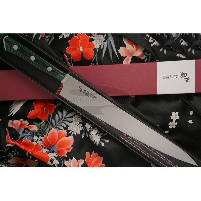 Japanilainen viipalointiveitsi Sujihiki Mcusta Forest HBG-6011M 27cm - 1