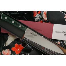 Gyuto Japanese kitchen knife Mcusta Zanmai Forest HBG-6004M 18cm