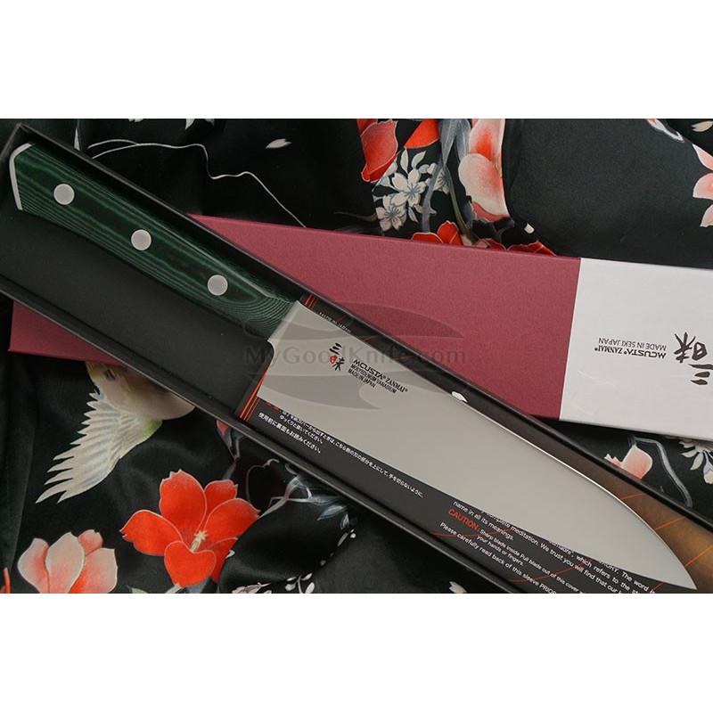 Japanilainen kokkiveitsi Gyuto Mcusta Forest HBG-6004M 18cm - 1