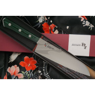 Santoku Japanese kitchen knife Mcusta Zanmai Forest HBG-6003M 18cm