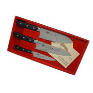 Kitchen knife set Masahiro 3 knives of MS-3000 Series 11 501 - 1