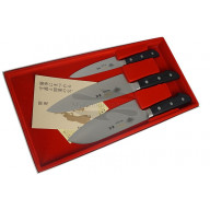 Kitchen knife set Masahiro 3 knives of MS-3000 Series 11 501 - 2