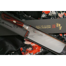 Японский кухонный нож Накири Mcusta Zanmai Supreme Ripple Damascus TZ2-4008DR 16.5см