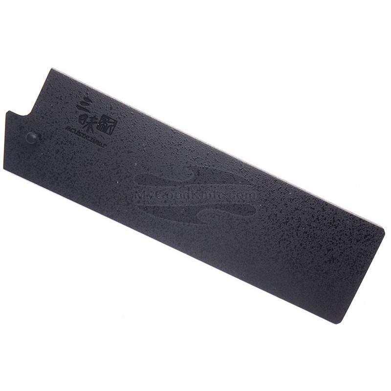 Ножны Mcusta Черные лакированные, Сая для ножей Накири 165 мм mbsn165 - 1