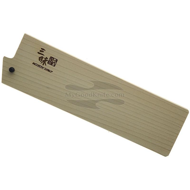 Ножны Mcusta Деревянные, Сая для японских ножей Накири 165 мм mnsn165 - 1