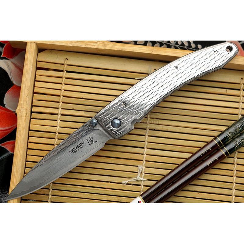 Folding knife Mcusta Large Nami  MC-0112D 8.5cm - 1